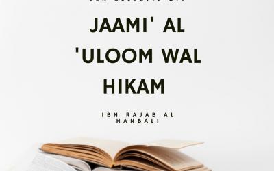 Jaami' al 'Uloom wal Hikam   Ibn Radjab al-Hanbali